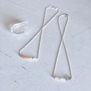 Delicate Moonstone 🌚 Necklace